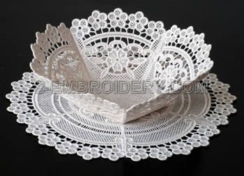 Freestanding Lace bowl #2