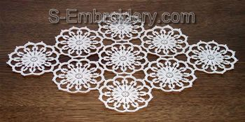 Freestanding lace doily #2