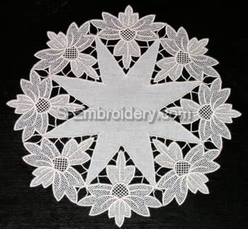 Freestanding Lace Doily - Small