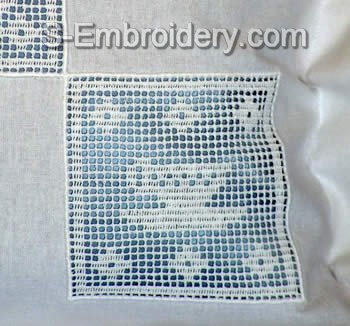 Freestanding Lace Kitchen Crochet Square 5