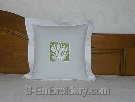 FSL hiacint pillow case decoration