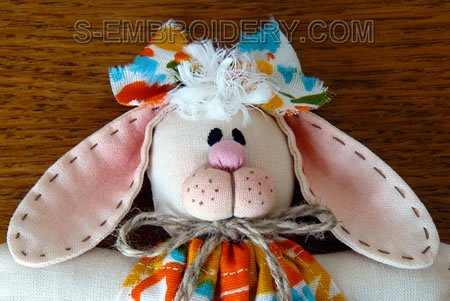 Bunny Soft Toy - close-up image