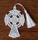 10400 Easter free standing lace cross ornaments