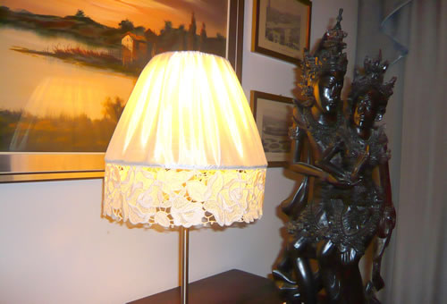 Free standing lace lamp shade s embroidery freestanding lace lamp shade aloadofball Image collections