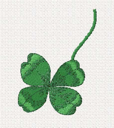 Free Clover machine embroidery design