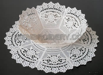 Freestanding Lace bowl #1