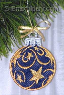 Freestanding lace Christmas tree decoration #6