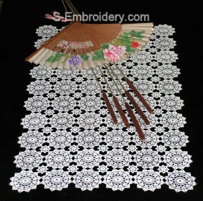 Freestanding Lace Crochet Doily