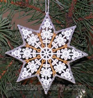 FSL Christmas Tree Ornament