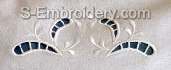 Cutwork Lace Embroidery Decoration