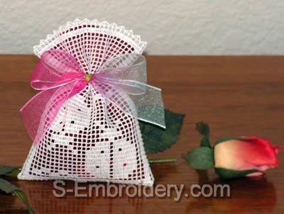 FSL Crochet Lavender Sachet