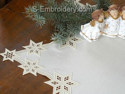 Freestanding Lace Star Doily image