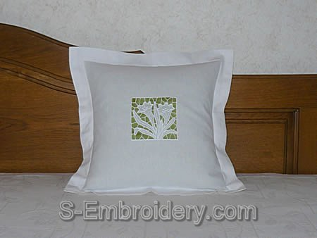 FSL crocus pillow case decoration