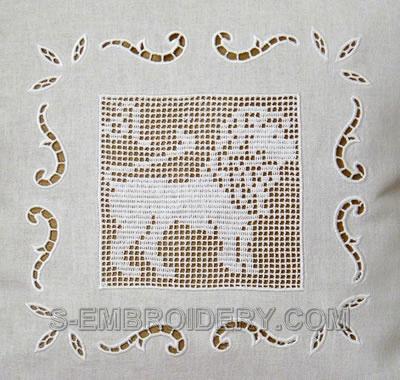 Zodiac FSLace Crochet Square