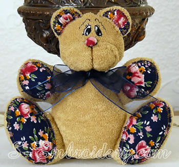 10491 Teddy bear soft toy