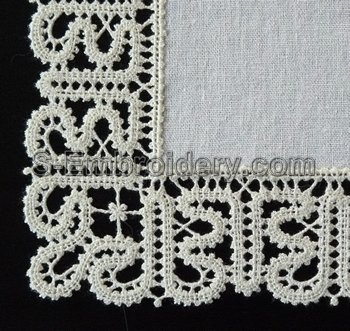 10535 Battenberg free standing lace edging