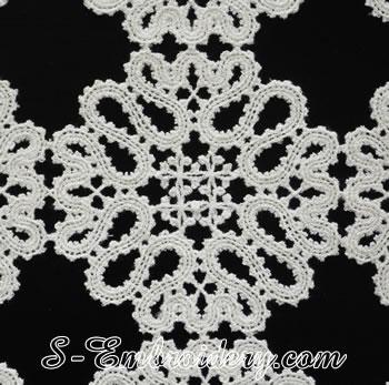10624 Battenburg free standing lace machine embroidery