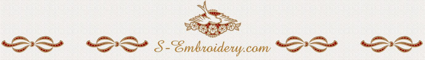 Free machine embroidery designs - S-Embroidery com